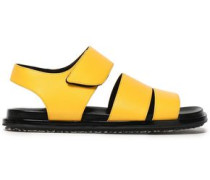 Leather Sandals Yellow