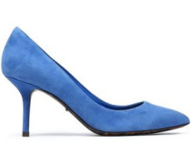 Kate Suede Pumps Azure