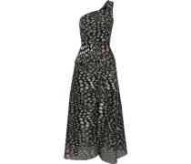 Baldersby one-shoulder fil coupé gown