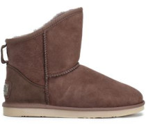 Shearling Ankle Boots Light Brown