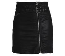Cotton-twill mini skirt