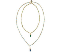 Bellini gold-tone stone necklace