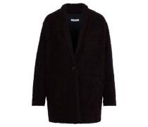 Rafa Bouclé Coat Black