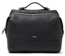 Pebbled-leather Shoulder Bag Black Size --