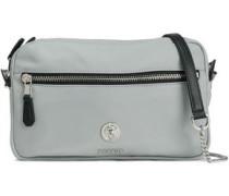 Embellished Shell Shoulder Bag Stone Size --