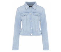 Harlow bleached denim jacket