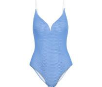 Woman Georgia Crocheted Swimsuit Light Blue