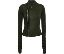 Stretch-jersey Jacket Forest Green