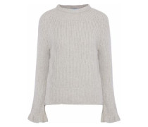 Blake ribbed wool and cashmere-blend sweater