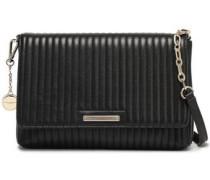 Quilted Leather Shoulder Bag Black Size --