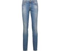 Low-rise Skinny Jeans Mid Denim