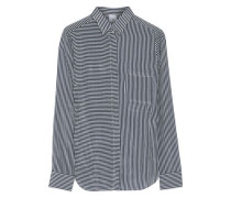Striped voile top