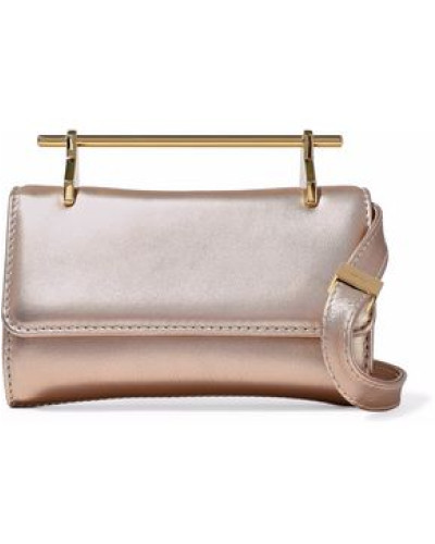 Kosten M2MALLETIER Damen Metallic leather shoulder bag Rabatt Visum Zahlung Günstig Kaufen 2018 Freies Verschiffen Footaction mEGdtVj
