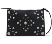 Studded Leather Pouch Black Size --