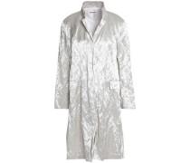 Crinkled-taffeta jacket