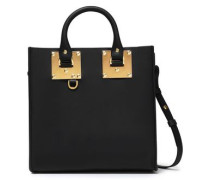 Albion Square Matte-leather Shoulder Bag Black Size --