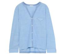 Jayne cotton-gauze pajama top