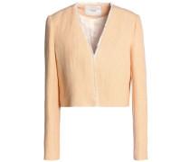 Frayed woven jacket
