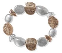 22-karat Gold And Rhodium-plated Bracelet Silver Size --