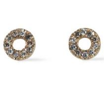 18-karat Gold Stone Earrings Gold Size --