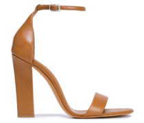 Leather Sandals Camel