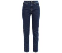 Yadkin Mid-rise Slim-leg Jeans Mid Denim  4