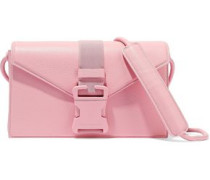 Devine Pebbled-leather Shoulder Bag Baby Pink Size --