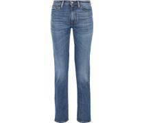Mid-rise Slim-leg Jeans Mid Denim  4