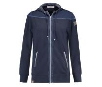 Stretch-jersey hooded jacket