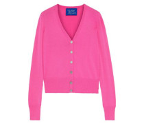 Chiz Stretch-knit Cardigan Magenta