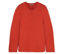Woman Cashmere Sweater Orange