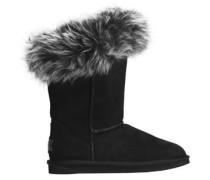 Foxy Shearling Boots Black