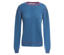 Woman Cashmere Sweater Blue