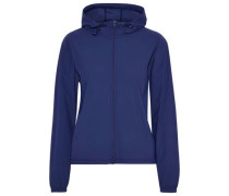Stretch-shell Hooded Jacket Navy