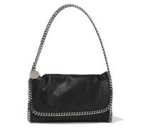 Falabella Faux Brushed-leather Shoulder Bag Black Size --