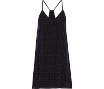 Jameson studded silk mini dress
