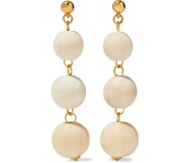 -tone Wood Earrings