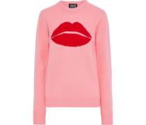 Mia Intarsia Wool Sweater Bubblegum
