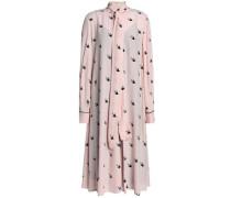 Printed Crepe Dress Baby Pink