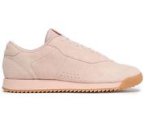 Princess Ripple Suede Sneakers Pastel Pink