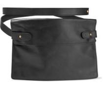 Pocket Leather Belt Bag Black Size --