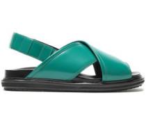 Leather Slingback Sandals Jade