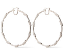 Burnished -tone Hoop Earrings