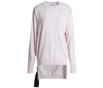 Buckled cashmere sweater