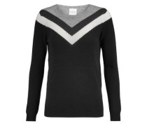 Thilia ruffle-trimmed wool and cashmere-blend sweater