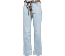 Mid-rise Boyfriend Jeans Light Denim