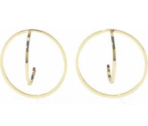 Marie 18-karat Gold-plated Sterling Silver Earrings Gold Size --