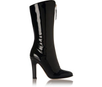 Patent-leather boots