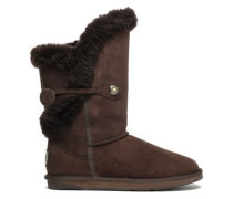 Shearling Boots Chocolate
