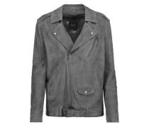 Tralsmin suede biker jacket